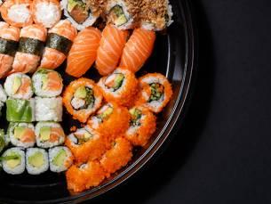 Afhalen: sushibox (24 of 40 stuks) bij Monster Sushi