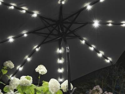 zwarte parasol