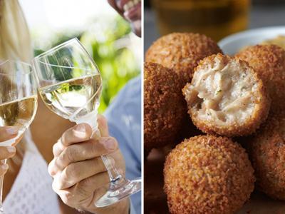 High wine + hapjes bij Gewoon Alie