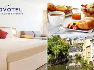 Overnachting(en) voor 2 + ontbijt in Luxemburg