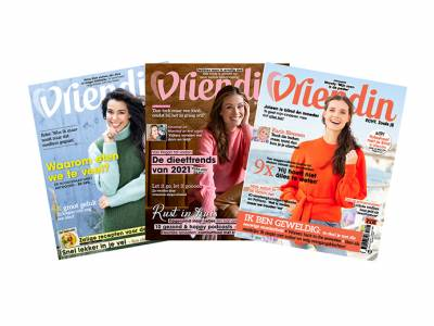 Abonnement op tijdschrift Vriendin