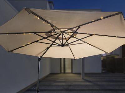 Led lichtslinger voor parasol