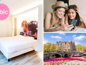 Overnachting voor 2 + ontbijt op de Amsterdamse Zuidas