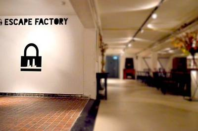Escape Factory: escaperoom met pizza in Amsterdam-Noord