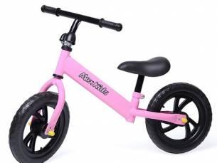 Roze loopfiets van Max Kids
