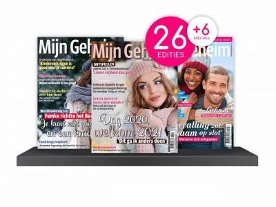 Ontvang 26 keer het tijdschrift Mijn Geheim + 6 specials!