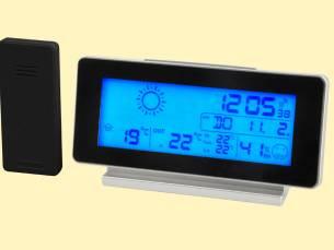 Draadloos weerstation met LCD scherm