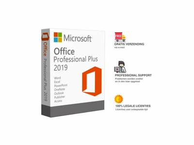 Microsoft Office 2019 levenslange licentie, inclusief trainingen
