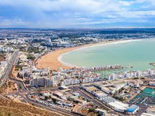 4*-hotel aan de kust van Agadir o.b.v. halfpension incl. excursie