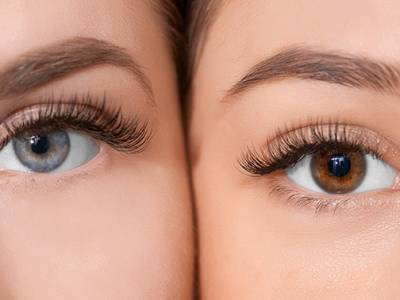 Wimperlifting + wimpers verven