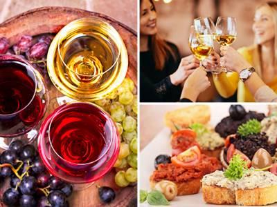 Wijnproeverij aan huis voor 4 personen