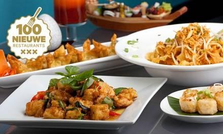 3-gangen keuzemenu als lunch of diner, bij Royal Thai nabij het Leidseplein (vanaf 2 pers.)