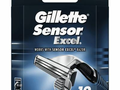 Gillette Scheermesjes Sensor Excel 10 stuks