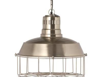 Riverdale hanglamp Milton silver 41 cm