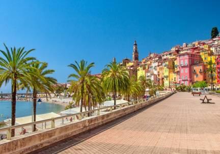 Geniet aan de Côte d'Azur in de kustplaats Nice incl. vlucht en ontbijt