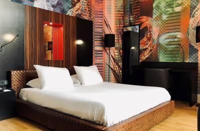 Maastricht: tweepersoonskamer voor 2 personen, naar keuze met ontbijt in Design Hotel Maastricht