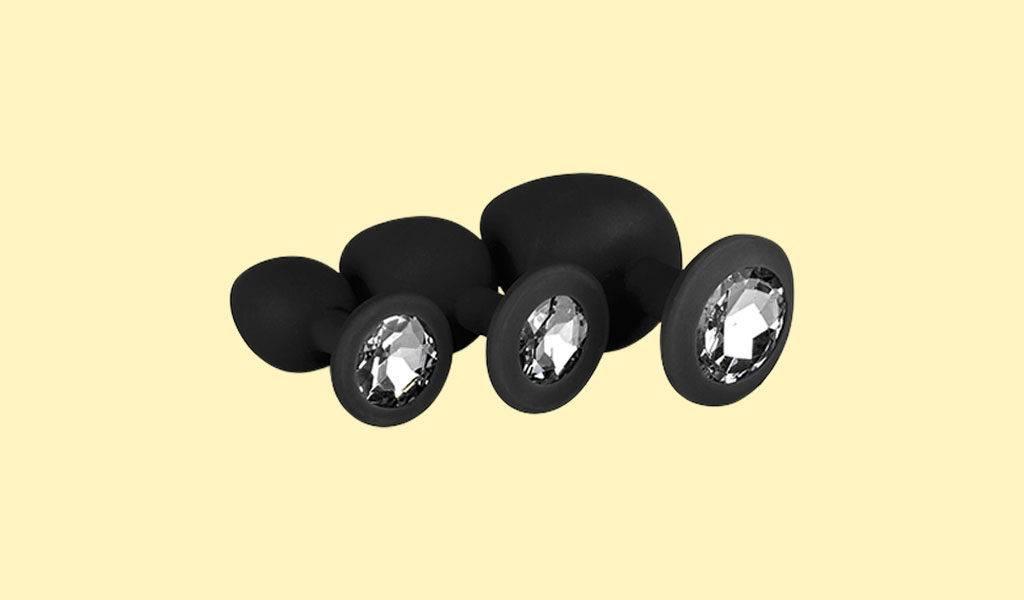 3-delige buttplug set