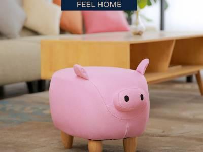 Feel Furniture - Kinder dierenstoel - Varken