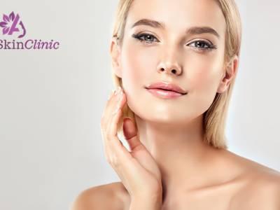 Huidverbeterende gezichtsbehandeling