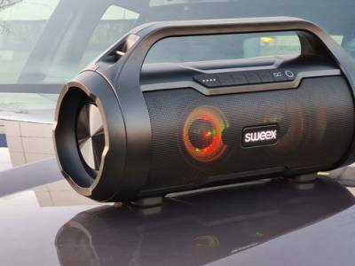 Draadloze bluetooth-speaker