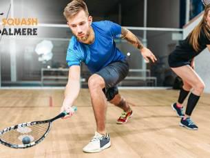 Huur padelbaan of squashbaan + rackets en balletjes