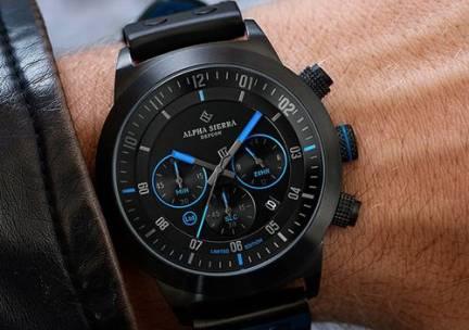 Defcon herenhorloge van Alpha Sierra (Limited Edition)
