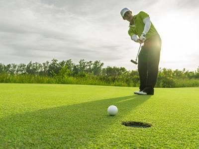 18 holes golfen