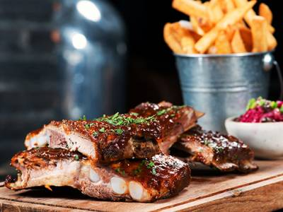 All-You-Can-Eat spareribs bij The Five Bells