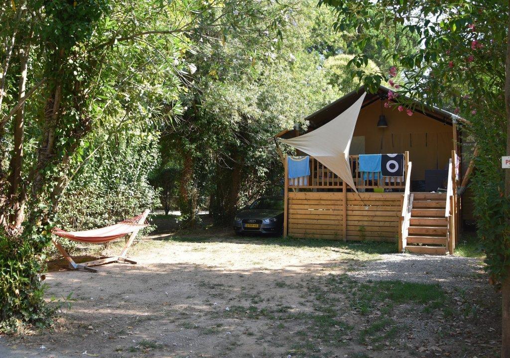 Luxe 4*-camping aan de Côte d'Azur in Frankrijk