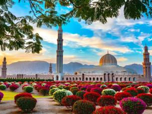 Luxe cruise langs Dubai, Abu Dhabi, Doha en Muscat o.b.v. volpension