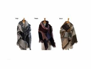Heerlijk warme Pashmina sjaal voor de koude dagen!