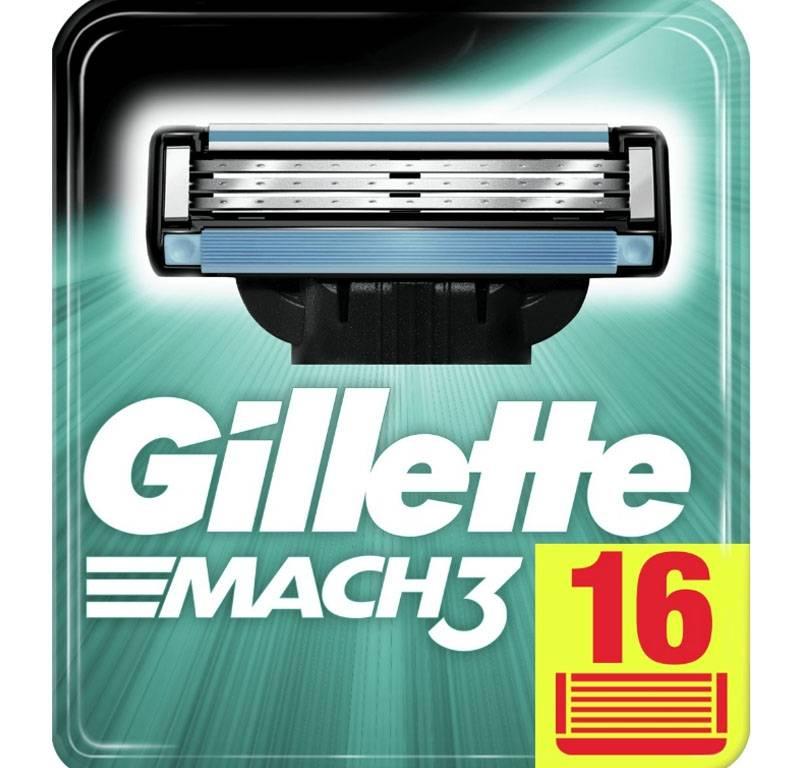 Gillette Mach3 Scheermesjes 16 stuks