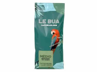 Le Bua Medio Medium Roast - Arabica Koffiebonen Le Bua Medio Medium Roast - 8x1kg incl. 1 Gratis Le Bua koffie mok