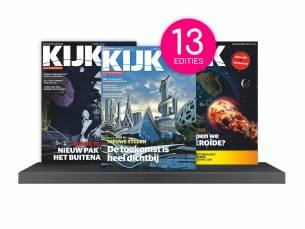 Een jaarabonnement op KIJK Magazine (13 edities)!