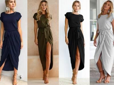 75% korting - Gorgeous maxi jurk