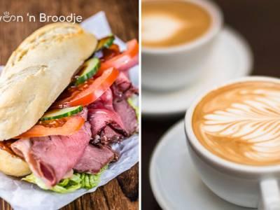 Broodje (15 keuzes) + warme drank in Scheveningen