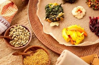 Ethiopische proeverij naar keuze voor 2 of 4 personen bij Restaurant Taytu in Amsterdam-Oost