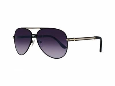 Zwarte unisex Guess zonnebril montuur GF0173/S 01B!