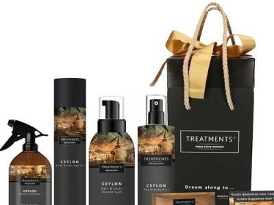 Ceylon-giftbox van TREATMENTS® + dagje wellness
