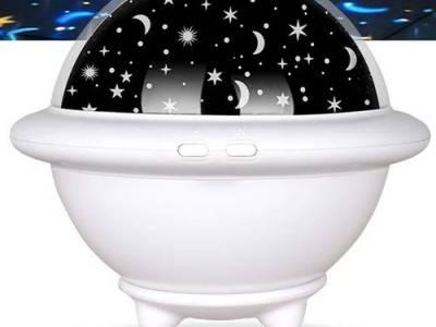 Nachtlamp en sterrenprojector