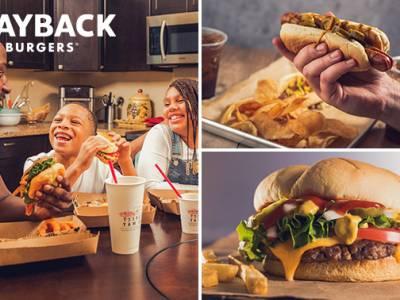 Afhalen: burger- of hotdogmenu bij Wayback Burgers