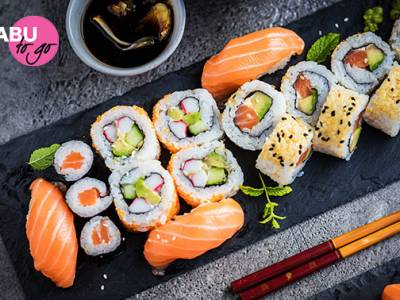 Afhalen: sushibox (24 of 29 stuks) van Shabu To Go