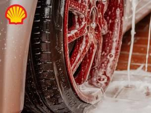 Wasbeurt bij Shell Euregio in Landgraaf