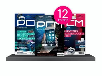 Een jaarabonnement op computermagazine PCM!