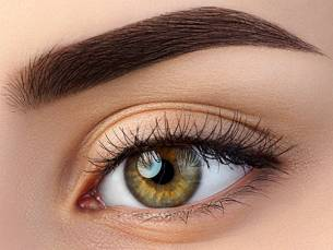 Brow styling of lamination + verven + shapen
