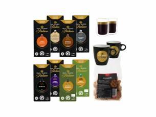 Divers nespresso pakket met acht heerlijke smaken van Koffievoordeel!