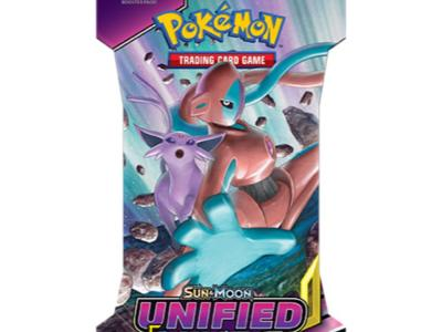 Pokemon Sun & Moon - Unified Minds Sleeved Boosterpack