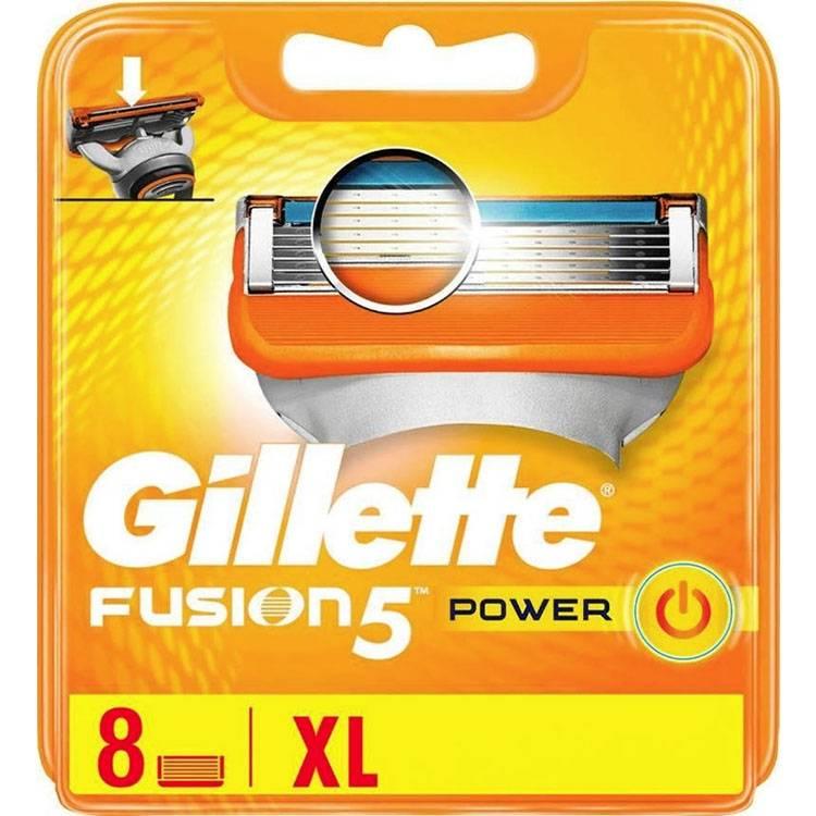 Gillette Fusion5 Power 8 Mesjes