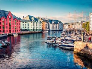 12 dg cruise Noorse Steden
