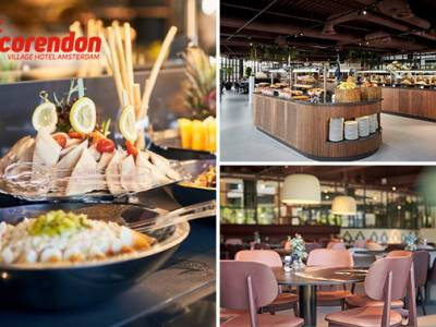 All-You-Can-Eat & drink lunch (2,5 uur) bij Corendon Village Hotel